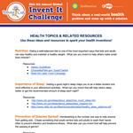 HealthTopicsforChallenge